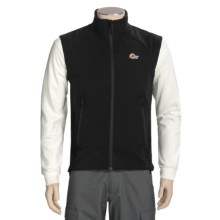 Lowe Alpine Torre Vest - Soft Shell (For Men and Women) in Black - Closeouts