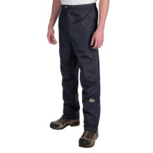 Lowe Alpine Triplepoint® II Pants - Waterproof (For Men) in Black - Closeouts