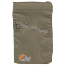 Lowe Alpine TT Vertical Travel Wallet in Beige - Closeouts