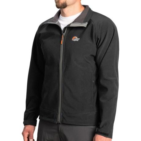 photo: Lowe Alpine Vapour Trail Jacket soft shell jacket