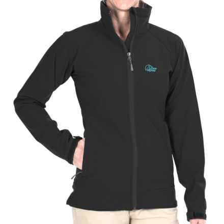 Lowe Alpine Vapour Trail Soft Shell Jacket (For Women) in Black/Bluejay - Closeouts