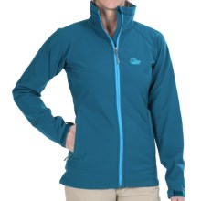 Lowe Alpine Vapour Trail Soft Shell Jacket (For Women) in Teal/Bluejay - Closeouts
