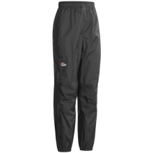 Lowe Alpine Velocity Pants - Waterproof (For Women) in Black - Closeouts