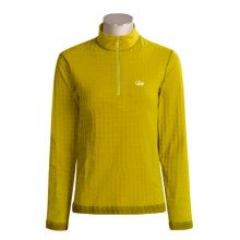 Lowe Alpine Warm Zone Thermal Shirt - Base Layer, Long Sleeve (For Women) in Tobacco/Ceylon Yellow - Closeouts