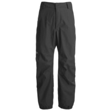 Lowe Alpine Wilderness Gore-Tex® Pants - Waterproof (For Men and Women) in Black - Closeouts