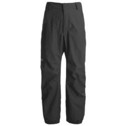 Lowe Alpine Wilderness Gore-Tex® Pants - Waterproof (For Men and Women) in Black