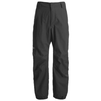 Lowe Alpine Wilderness Gore-Tex® Pants - Waterproof (For Men and Women) in Black