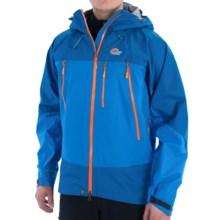 Lowe Alpine Wildfire 3L Jacket - Waterproof (For Men) in Dark Captain/Captain Blue - Closeouts