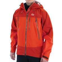 Lowe Alpine Wildfire 3L Jacket - Waterproof (For Men) in Dark Fiesta/Fiesta - Closeouts
