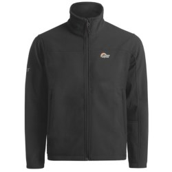 Lowe Alpine Windbreaker Polartec® Wind Bloc® Jacket (For Men) in Black/Black