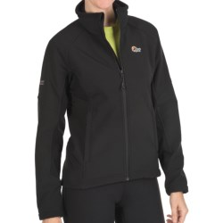 Lowe Alpine Windbreaker Soft Shell Jacket - Polartec® Windbloc® (For Women) in Black/Black