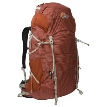 Lowe Alpine Zepton 50 Backpack - Internal Frame in Ochre - Closeouts
