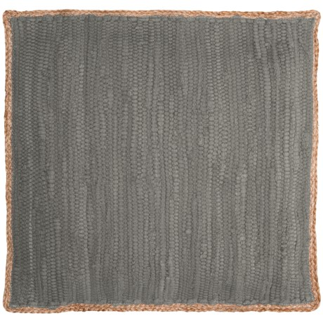 """LR Resources Decor Pillow - 20x20"""" in Dark Grey"""