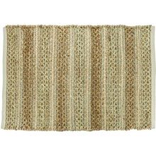 LR Resources Mohan Design Jute Accent Rug - 2x3' in Sedona - Closeouts