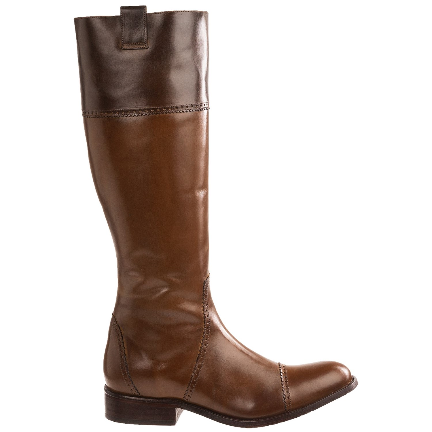 Lucchese Collared English Riding Boots For Women 7185w