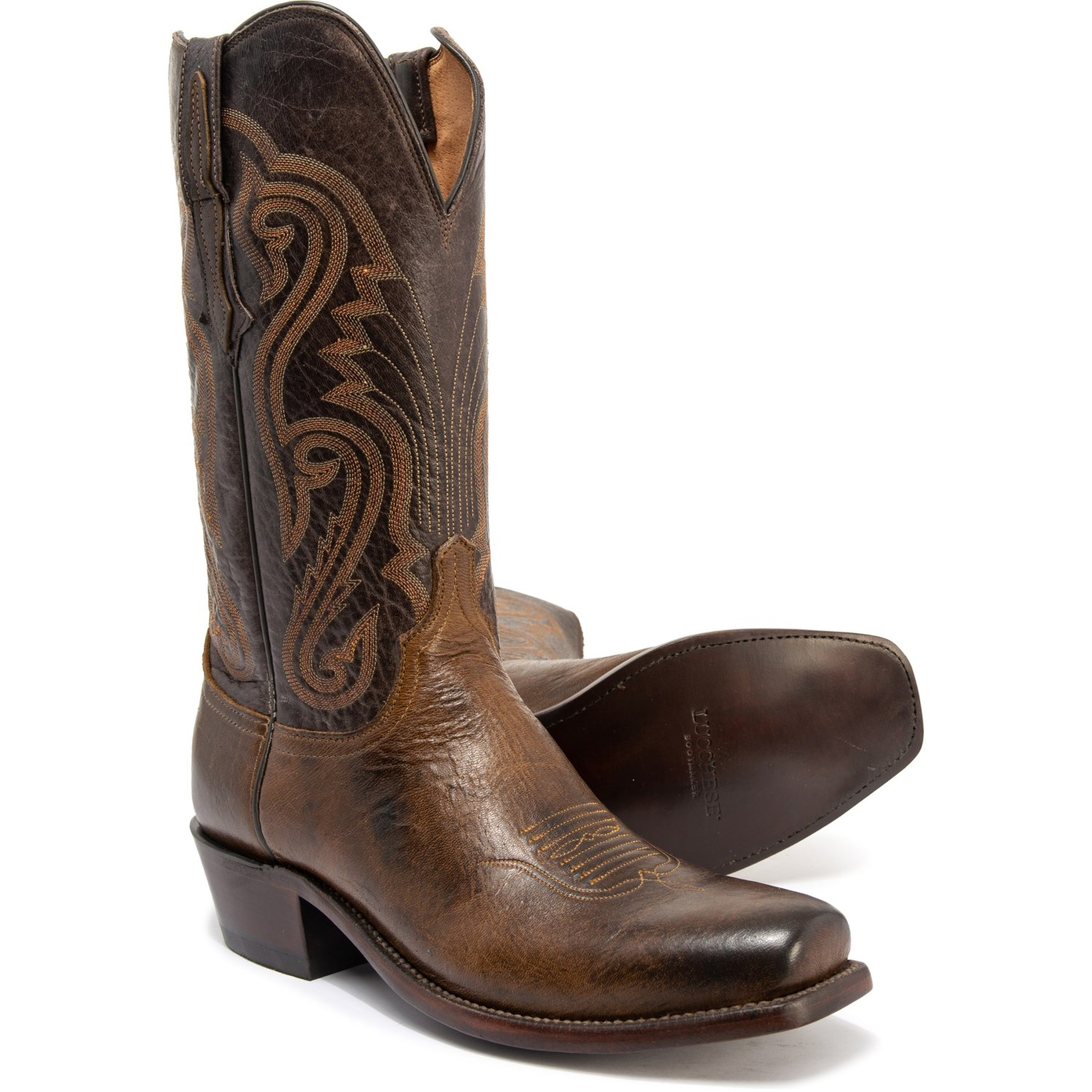 41ccb29ef53 Lucchese Estes Cowboy Boots (For Men)