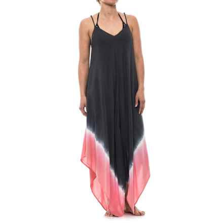 Lucky & Coco Dip-Dye Cover-Up - Sleeveless (For Women) in Slate Rosewater - Closeouts