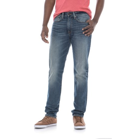 Lucky Brand 121 Heritage Slim Jeans - Straight Leg (For Men) in Eastvale