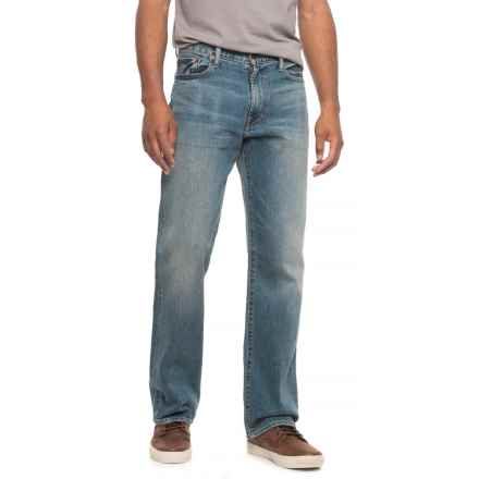 Lucky Brand 181 Relaxed Fit Jeans - Straight Leg (For Men) in Sunnyvale - Overstock