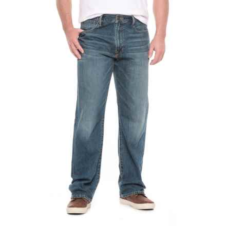 Lucky Brand 181 Relaxed Straight-Leg Jeans - Relaxed Fit (For Men) in Delwood - Closeouts
