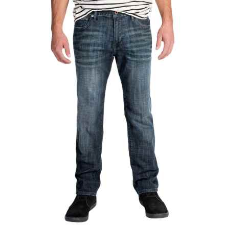 Lucky Brand 221 Original Jeans - Straight Leg (For Men) in Alhambra - Closeouts