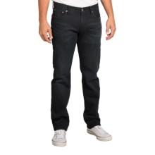 Lucky Brand 221 Original Jeans - Straight Leg (For Men) in Black Obsidian - Closeouts
