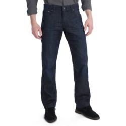 Lucky Brand 221 Original Jeans - Straight Leg, Slim Fit (For Men) in Dark Blue Denim