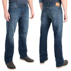 Lucky Brand 361 Vintage Jeans - Straight Leg (For Men) in Greenfields