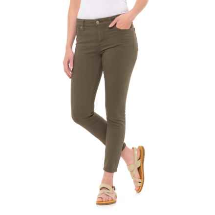 Lucky Brand Ava Crop Jeans (For Women) in Grape Leaf - Closeouts