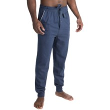 Lucky Brand Black Label Sueded Lounge Pants (For Men) in Mood Indigo - Closeouts