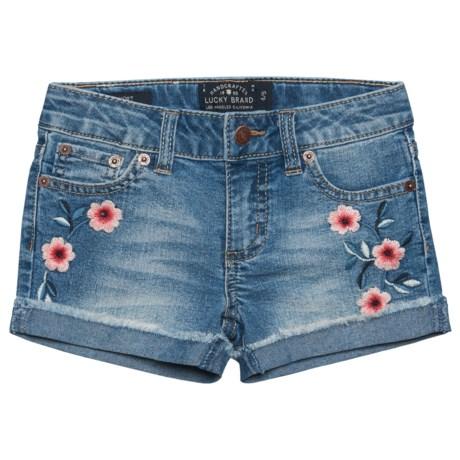 Lucky Brand Bobbi Denim Shorts (For Little Girls) in Ryder Wash