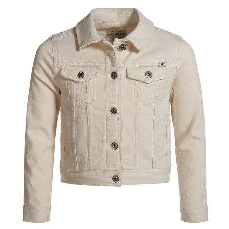 Lucky Brand Brianna Denim Jacket (For Big Girls) in Natural