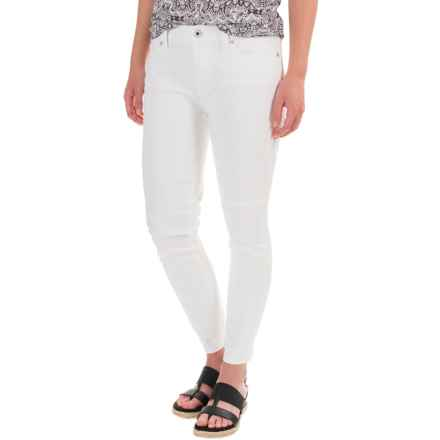 Lucky Brand Brooke Skinny Ankle Jeans - Mid Rise (For Women) in White Cap - Closeouts