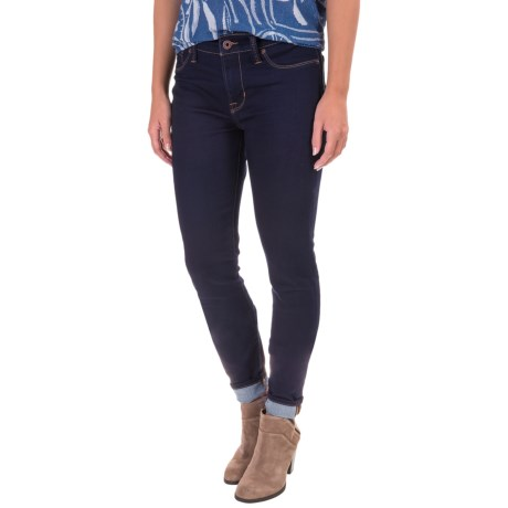 Lucky Brand Brooke Superstretch Legging Jeans - Mid Rise, Skinny Fit, Bootcut (For Women) in Bronson