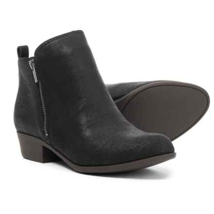 Lucky Brand Bruna Boots (For Girls) in Black - Closeouts