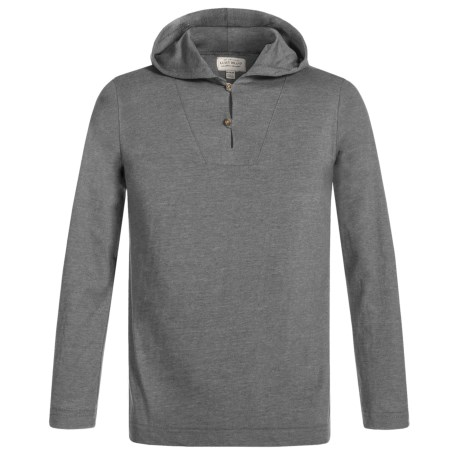 Lucky Brand Buttoned Hoodie Shirt - Long Sleeve (For Little Boys) in Flint