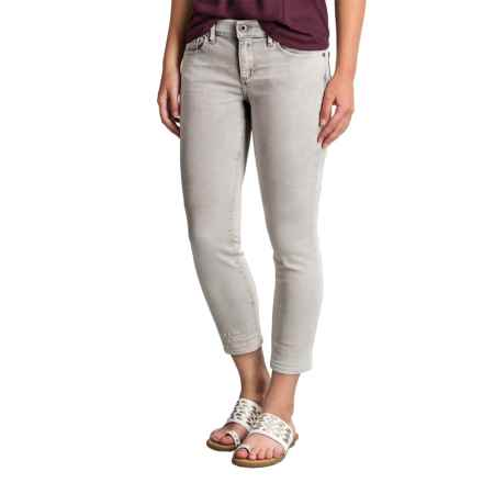 Lucky Brand Charlie Denim Capris - TENCEL® Blend, Low Rise (For Women) in Misty - Closeouts