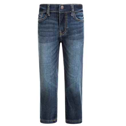 Lucky Brand Core Jeans - Classic Fit, Straight Leg (For Little Boys) in Light Blue Eastvale - Closeouts