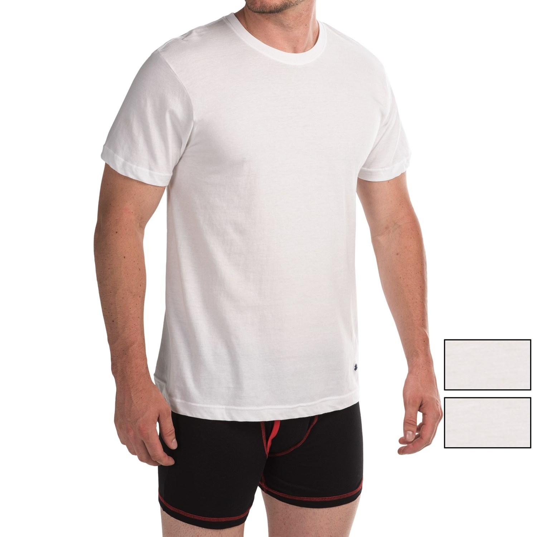 T shirt white brand - Lucky Brand Core T Shirt Crew Neck 3 Pack Short Sleeve