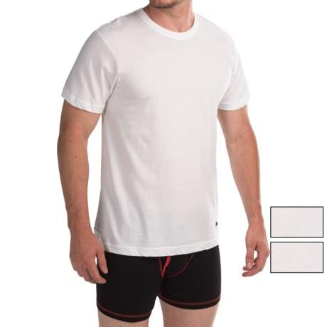 Lucky Brand Core T-Shirt - Crew Neck, 3-Pack, Short Sleeve (For Men) in White