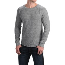 Lucky Brand Cotton Thermal Shirt - Long Sleeve (For Men) in Heather Grey - Closeouts