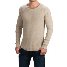 Lucky Brand Cotton Thermal Shirt - Long Sleeve (For Men) in Oatmeal - Closeouts