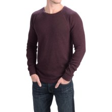 Lucky Brand Cotton Thermal Shirt - Long Sleeve (For Men) in Sassafras - Closeouts