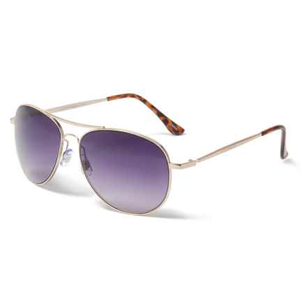 9a0f966555f Lucky Brand D917 Sunglasses (For Women) in Gold Purple