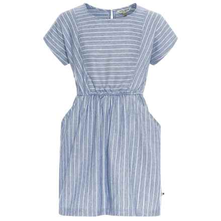 Lucky Brand Erika Dress - Short Sleeve (For Big Girls) in Marshmallow - Closeouts