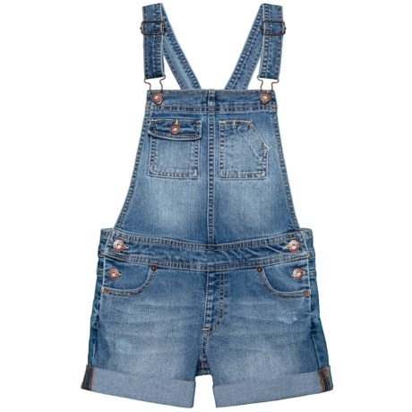 Lucky Brand Essie Overalls (For Big Girls) in Christi Wash