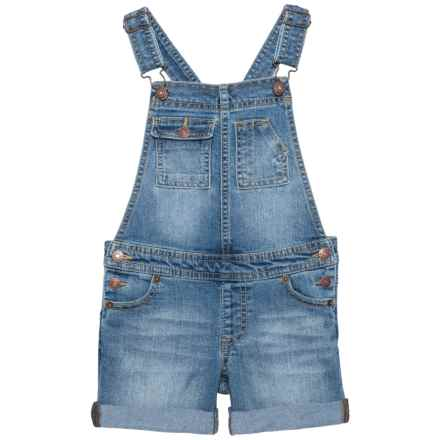 Lucky Brand Essie Overalls (For Little Girls) in Christi Wash - Closeouts