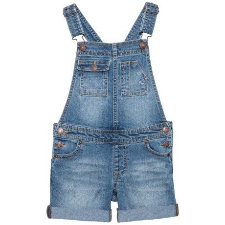 Lucky Brand Essie Overalls (For Little Girls) in Christi Wash