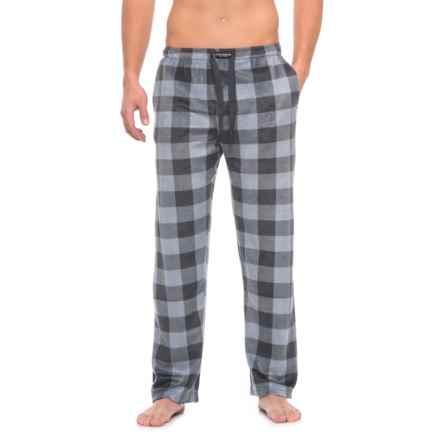 Lucky Brand Fleece Pajama Pants (For Men) in Mood Indigo - Closeouts