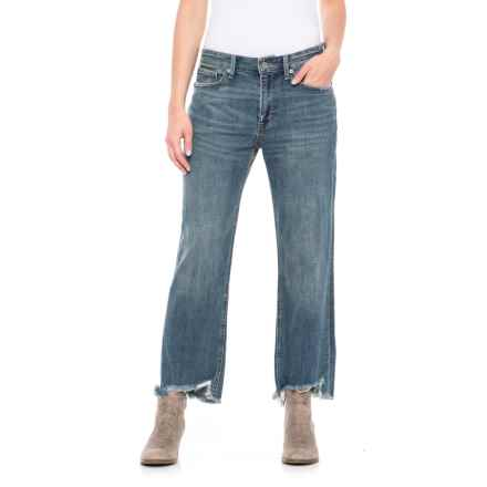 Lucky Brand Girl Next Door Boyfriend Jeans (For Women) in Azure Bay - Closeouts